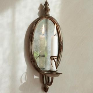 spiegel landhaus look. Black Bedroom Furniture Sets. Home Design Ideas
