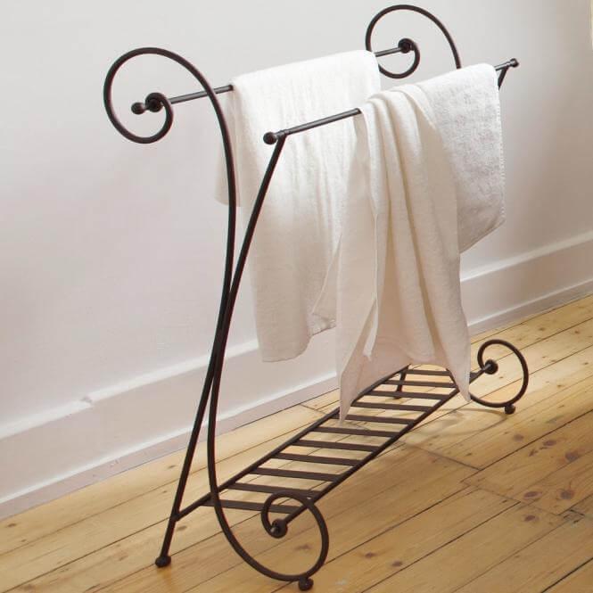 handtuchhalter tamarin landhaus look. Black Bedroom Furniture Sets. Home Design Ideas