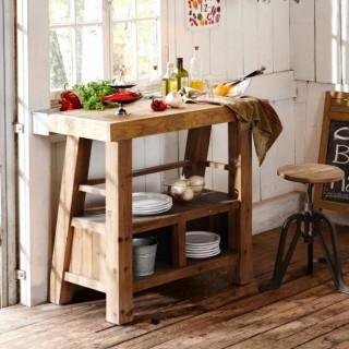 k chenm bel deko landhaus look. Black Bedroom Furniture Sets. Home Design Ideas