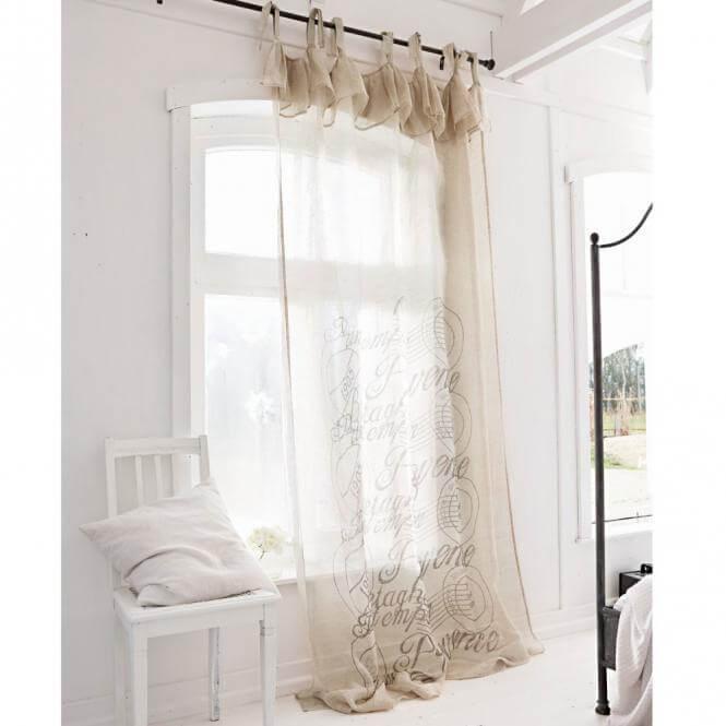 Gardinen Schlafzimmer Landhausstil
