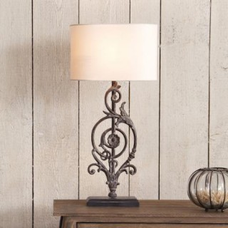 tischlampe beauvoir landhaus look. Black Bedroom Furniture Sets. Home Design Ideas