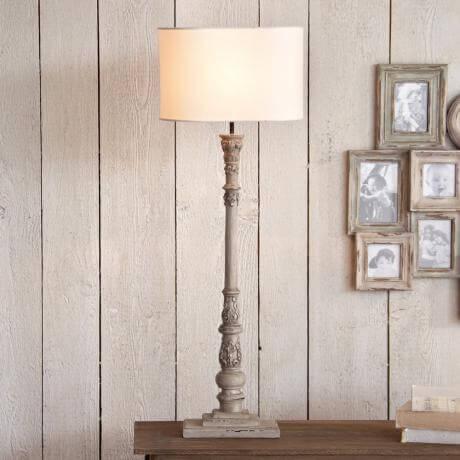 stehlampe castilly landhaus look. Black Bedroom Furniture Sets. Home Design Ideas