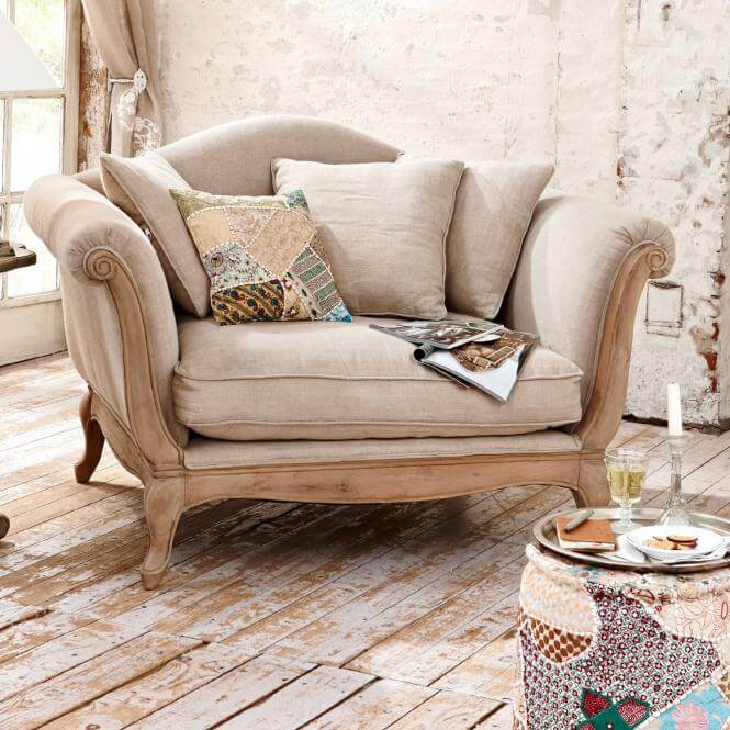 Loveseat Sessel Sumerset - Landhaus Look