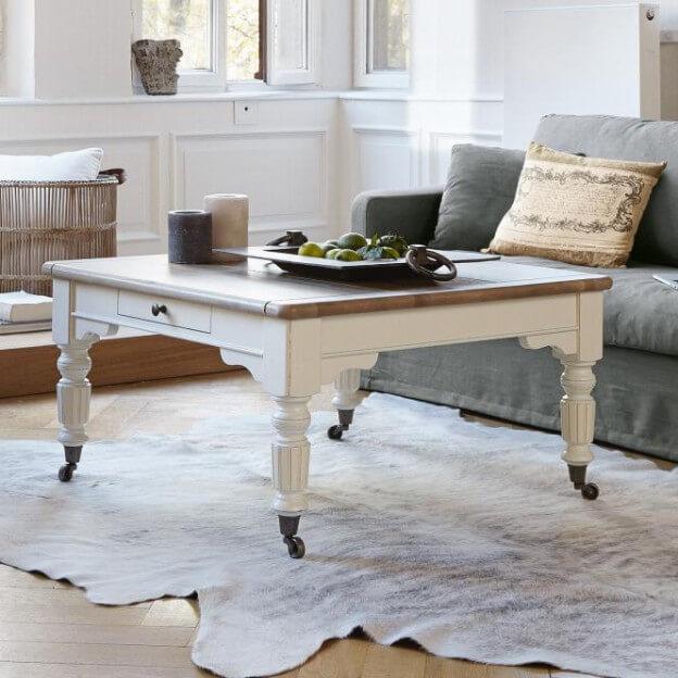 couchtisch landhaus look. Black Bedroom Furniture Sets. Home Design Ideas