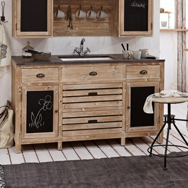 sp lenschrank rawlings landhaus look. Black Bedroom Furniture Sets. Home Design Ideas