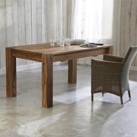 tisch dover landhaus look. Black Bedroom Furniture Sets. Home Design Ideas