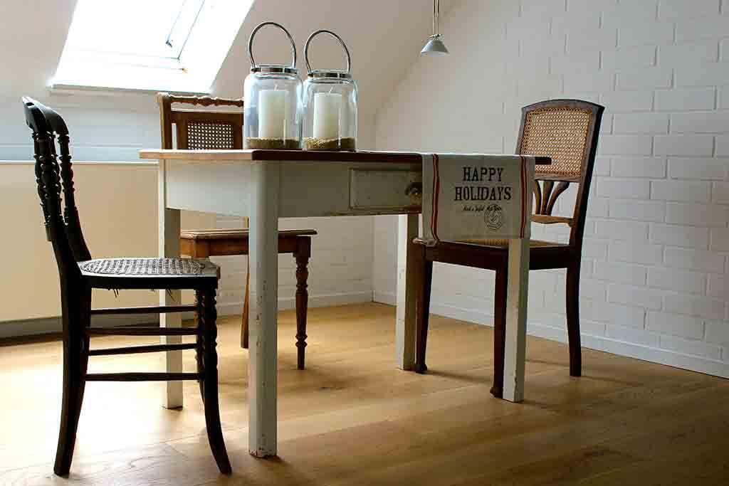 ferienwohnung im cottage stil in alter wasserm hle. Black Bedroom Furniture Sets. Home Design Ideas