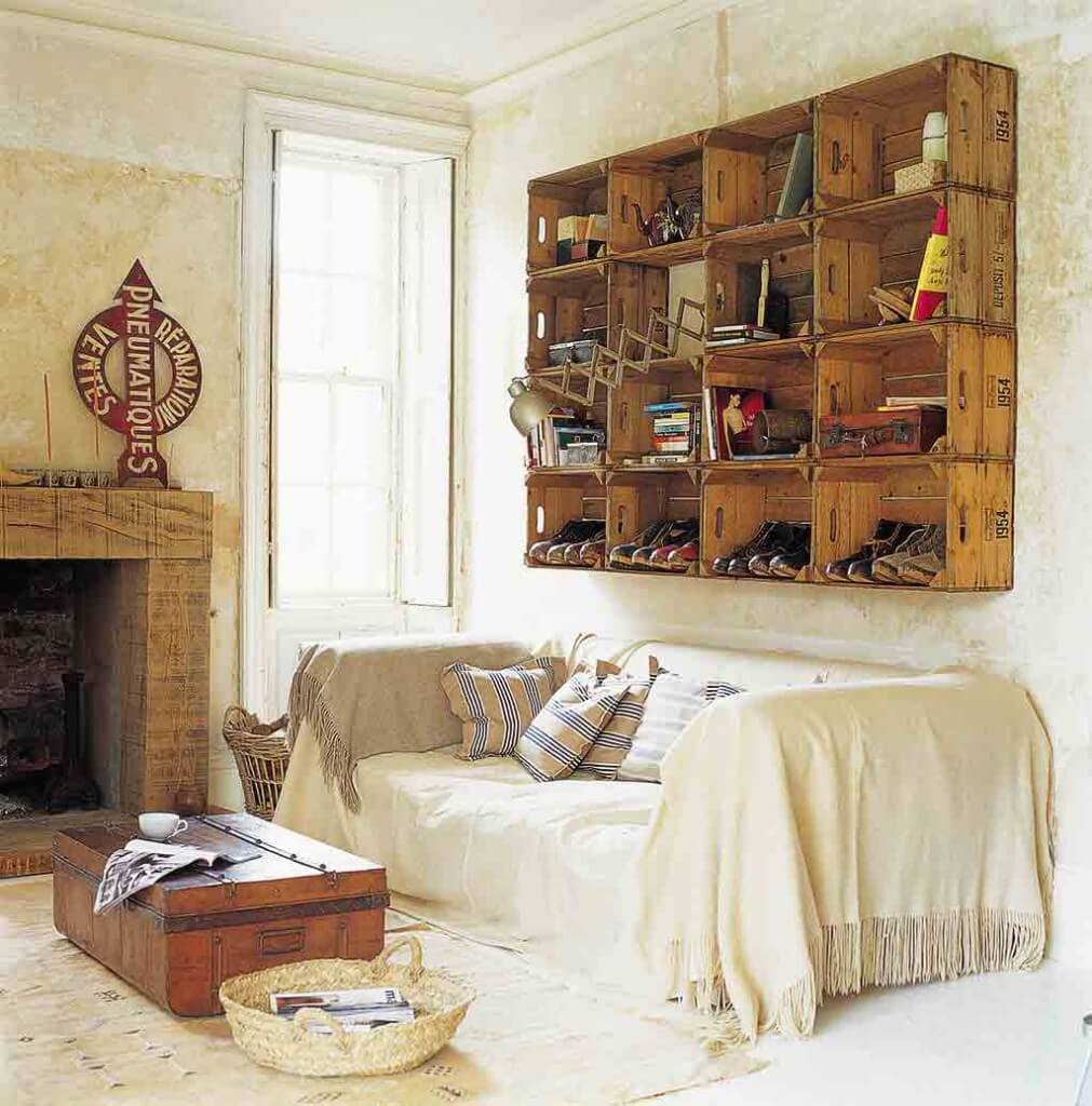 einfach g nstig viel stil f r wenig geld landhaus look. Black Bedroom Furniture Sets. Home Design Ideas