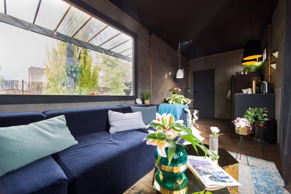 So Wird Eine Gartenlaube Zur Luxus Unterkunft Dunkle