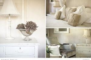 Belle Blanc ist der französische Landhausstil in weiß