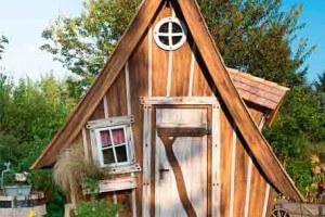 Gartenhaus wie aus dem Märchen
