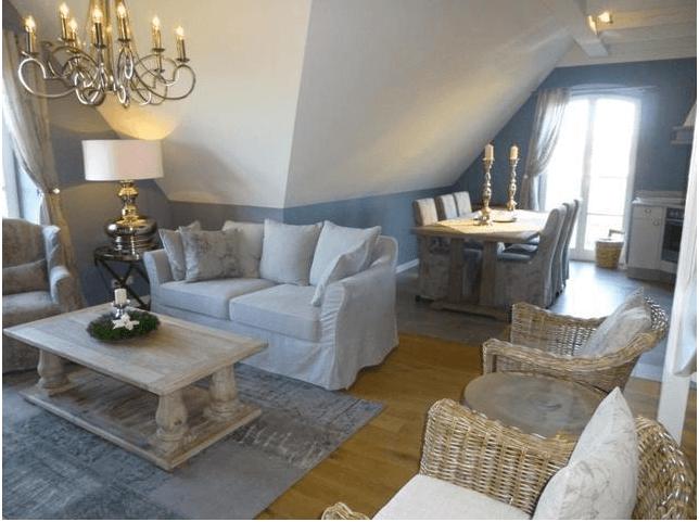 Ferienwohnung im edlen Landhausstil auf Usedom - Landhaus Look