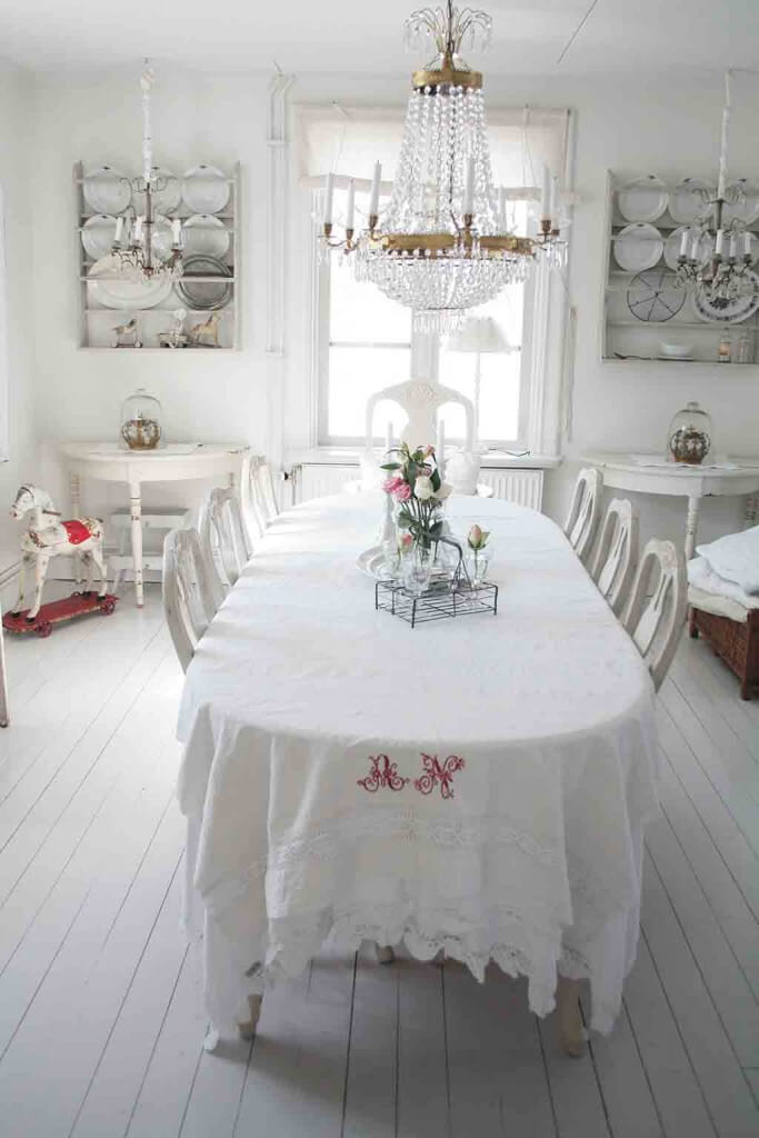 Zartweiß: Zu Besuch In Skandinavischen Landhäusern   Landhaus Look