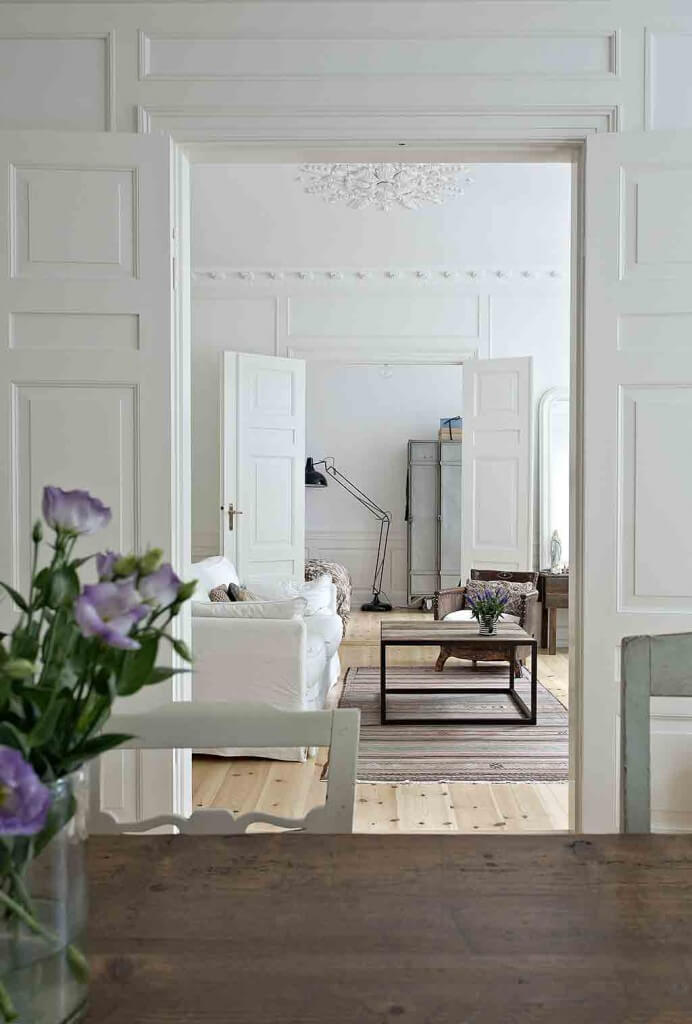 nordic living skandinavisch wohnen landhaus look. Black Bedroom Furniture Sets. Home Design Ideas
