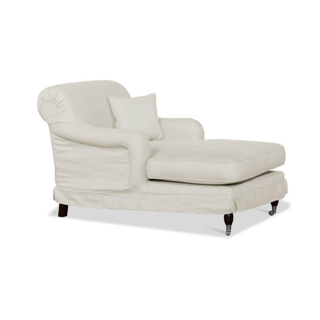 longchair derby creme landhaus look. Black Bedroom Furniture Sets. Home Design Ideas