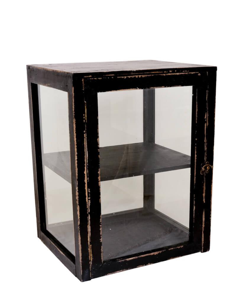 Regal Für Briefe : Regal cabinet schwarz landhaus look