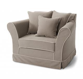 sessel landhaus look. Black Bedroom Furniture Sets. Home Design Ideas