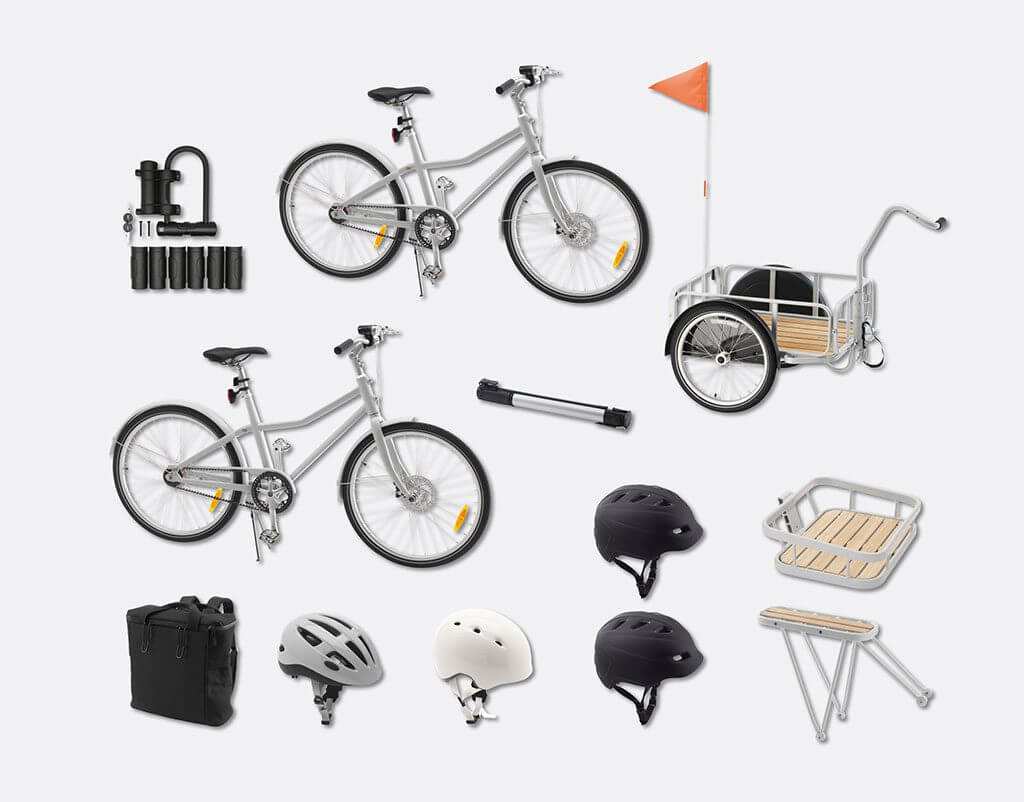 sch n praktisch ikea fahrrad sladda im landhauslook. Black Bedroom Furniture Sets. Home Design Ideas