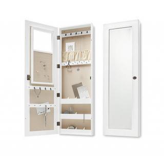 spiegel schmuckschrank landhaus look. Black Bedroom Furniture Sets. Home Design Ideas