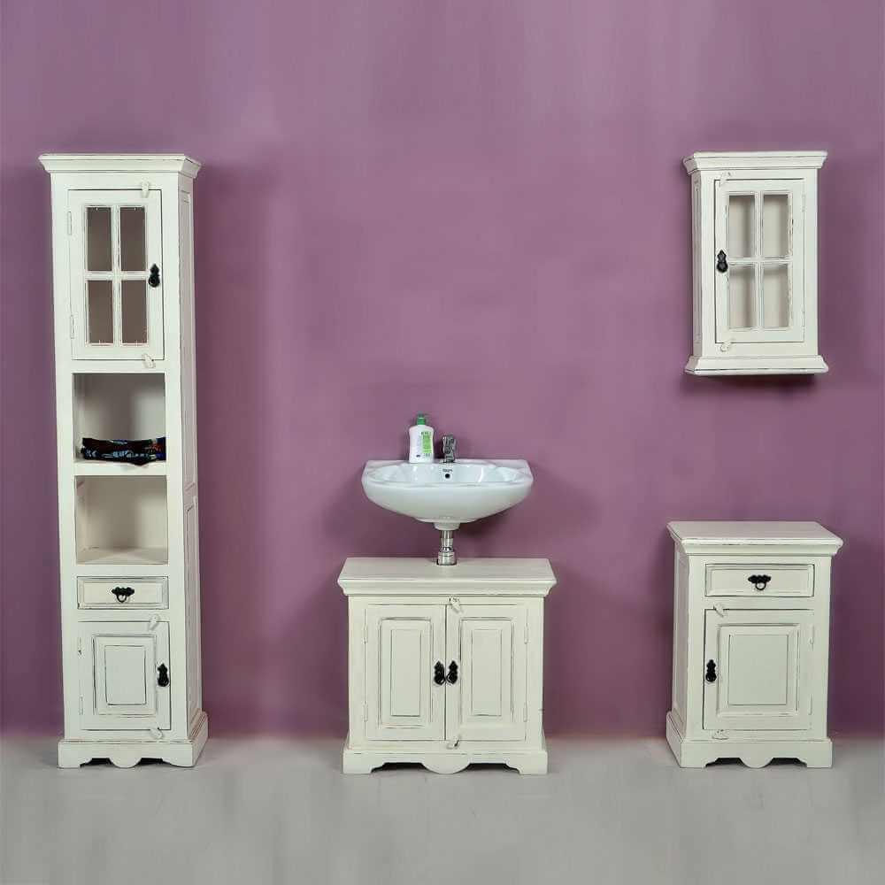 badezimmer komplettset aus mangobaum. Black Bedroom Furniture Sets. Home Design Ideas