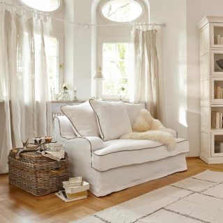 Chaiselongue landhaus  Sofa/Chaiselongue - Landhaus Look