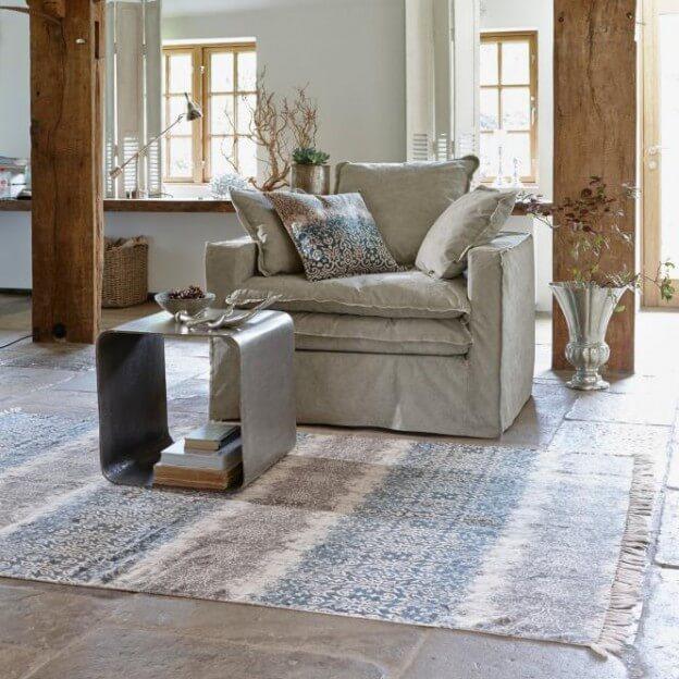 Teppich landhausstil blau landhaus teppich hause deko ideen schlafzimmer im landhausstil - Teppich landhaus ...