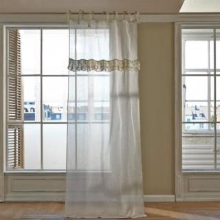vorh nge im landhausstil online kaufen magazin mit tipps und shop. Black Bedroom Furniture Sets. Home Design Ideas