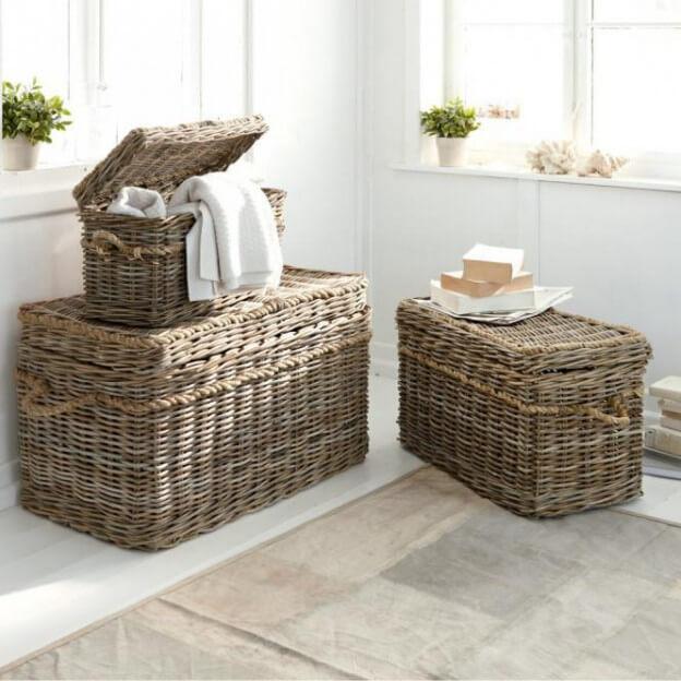 truhen 3er set beckley landhaus look. Black Bedroom Furniture Sets. Home Design Ideas