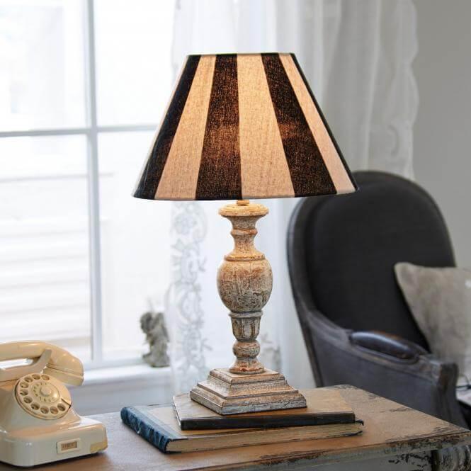 Tischlampe Elisworth  Landhaus Lo