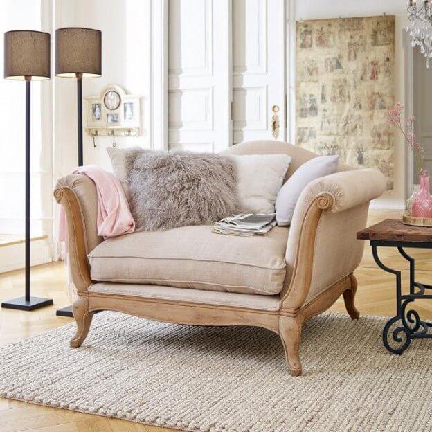 sessel sumerset landhaus look. Black Bedroom Furniture Sets. Home Design Ideas
