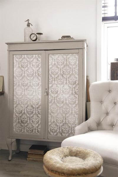 jeanne darc living tapete beige vintage shabby landhaus look. Black Bedroom Furniture Sets. Home Design Ideas