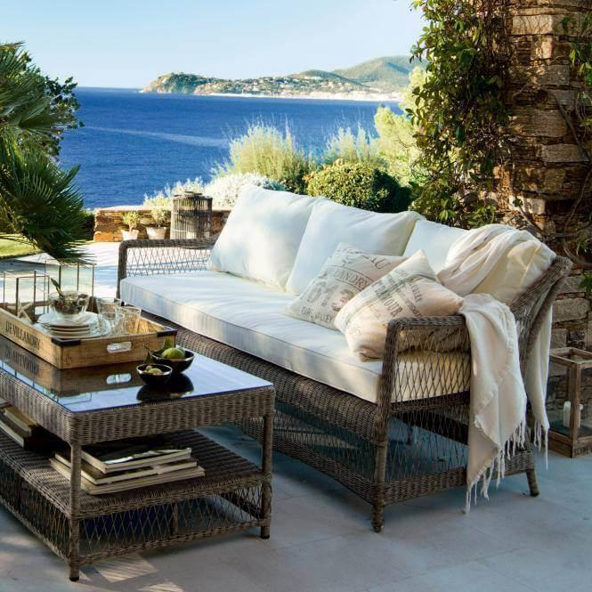 Gartenmöbel Landhaus 14426 sofa gestell braun jpg