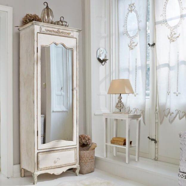 schrank lucgarier landhaus look. Black Bedroom Furniture Sets. Home Design Ideas