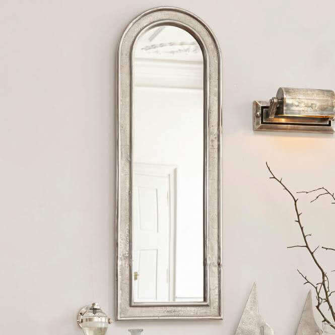 Spiegel im landhausstil online kaufen magazin mit tipps for Scheibengardine schlafzimmer