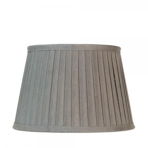 lampenschirm warm grey mit falten gro von greengate. Black Bedroom Furniture Sets. Home Design Ideas