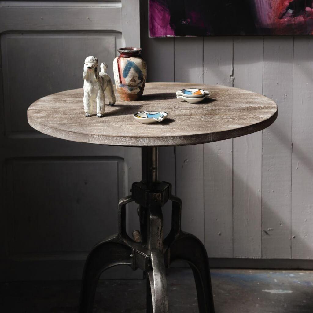 bistrotisch holzplatte bestseller shop f r m bel und einrichtungen. Black Bedroom Furniture Sets. Home Design Ideas
