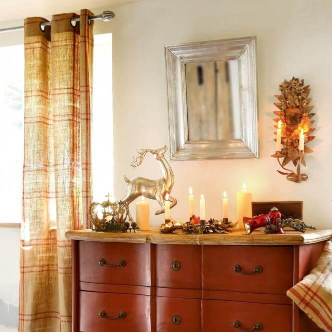 gardine goudet landhaus look. Black Bedroom Furniture Sets. Home Design Ideas