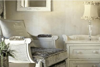 Belle Blanc weißer französischer Landhausstil