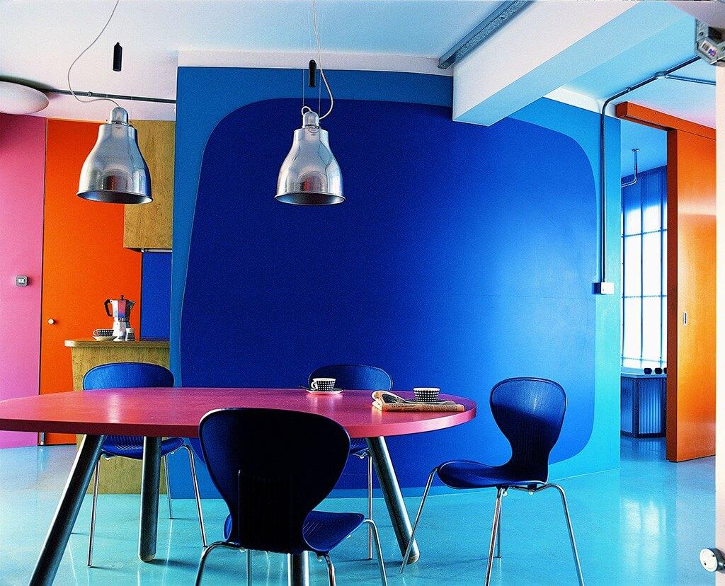Mehr Mut zu knalligen Farben passt zum Retro Stil (Foto Verlag Gerstenberg)