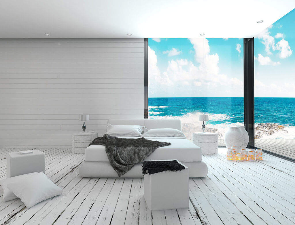 maritim wohnen am meer wie in den hamptons. Black Bedroom Furniture Sets. Home Design Ideas