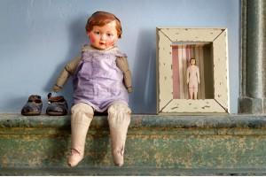 Landhaus Look: Vintage Möbel vom Flohmarkt