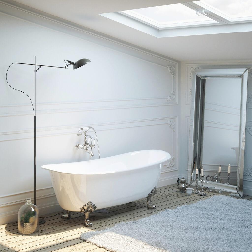 Freistehende Badewanne Schlafzimmer. Bettwäsche China Giraffen ...