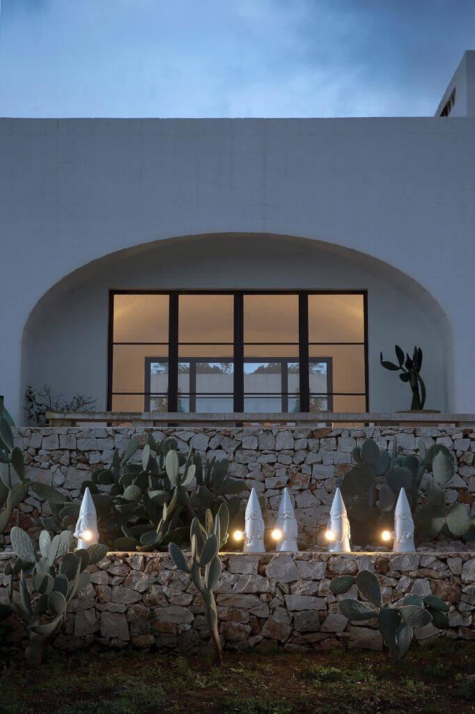 Gartenbeleuchtung Landhausstil mit Gartenzwerg Ottavo