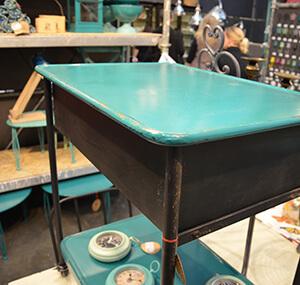 Sideboard aus Metall im Industrial Style von Nordal, gesehen auf der ambiente 2013@ Foto: Siegbert Mattheis
