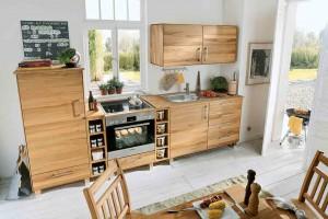 modulare Küche im Landhausstil