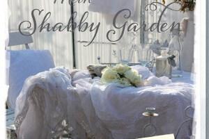 Mein Shabby Garden Weiß Wohnen im Grünen Cover