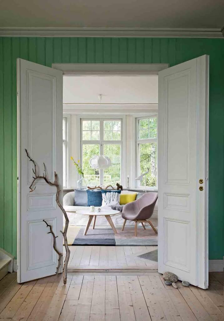 Wohnzimmer im Sweden Stil