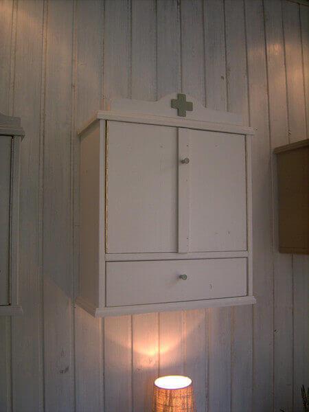 medizinschrank vintage gross. Black Bedroom Furniture Sets. Home Design Ideas