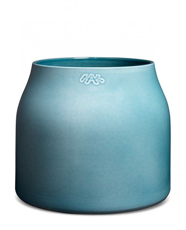 botanica blumentopf blau one size landhaus look. Black Bedroom Furniture Sets. Home Design Ideas