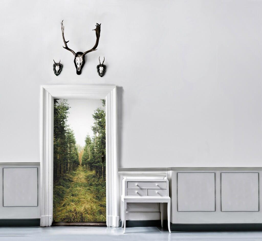 Neuer Landhaus-Look für Fliesen, Möbel, Türen
